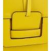 Ефектна жълта чанта