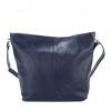 Тъмносиня дамска чанта