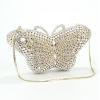 Абитуриентска чанта във формата на пеперуда с камъни