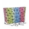 Луксозна холограмна чанта тип несесер