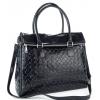 Дамска кожена чанта класически модел