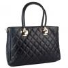 Елегантна дамска чанта капитониран дизайн