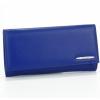 Кожено синьо портмоне