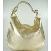 Златна чанта тип торба