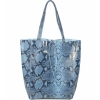Змийска чанта тип торба