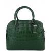 Дамска чанта от естествена шагрен кожа