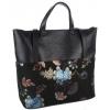 Черна чанта естествена кожа