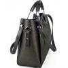 Чанта от ефектна естествена кожа