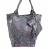 Сива чанта тип торба