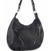 Черна чанта тип торба