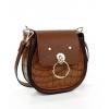 Дамска чанта от еко кожа в крейзи цвят