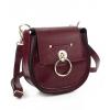 Чанта, изгодни цени цвят бордо