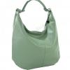 Дамска чанта тип торба от естествена кожа
