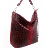 Чанта от естествен велур и 100% кожа