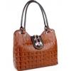 Оранжева дамска чанта