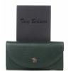 Зелен дамски портфейл