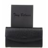Черен дамски портфейл