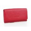 Червено дамско портмоне