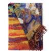 Правоъгълен многоцветен шал