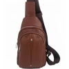 Чанта за през гърди от естествена кожа