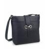 Тъмносиня чанта през рамо