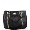 Черна дамска кожена чанта