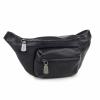 Черна чанта за кръст