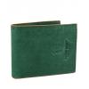Мъжки Кожен Портфейл в зелен цвят