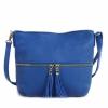 Дамска чанта кралско синьо
