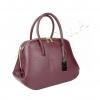 Стилна чанта в цвят бордо