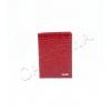 Червен калъф за паспорт