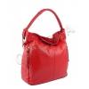 Червена чанта тип торба