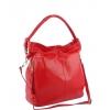 Чанта за рамо от естествена кожа