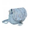 Светлосиня чанта през рамо