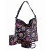 Комплект кожена чанта, колан и портмоне