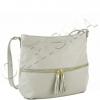 Сиво бежова малка чанта
