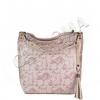 Торба на цветя от естествена кожа