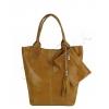 Чанта тип торба бежова