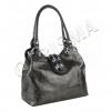 Чанта с тъмна змийска шарка