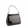 Чанта черен лак
