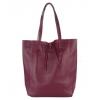 чанта тип торба бордо